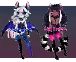 SP Gleamstic: Back in black 1 [CLOSED] by Cyleana