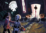 Trick or treat by Monomus