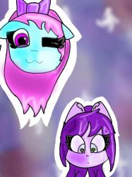 lovely and starie both sans fangirls  by pigdrawer99