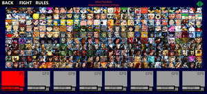 Multiverse Fighters Revolution Roster (Page 2) by SuperMaster10