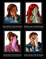 Stormlight Archive Facepalm Memes by BotanicaXu