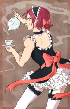 Maid Cafe Rin by StrawberryQuincy