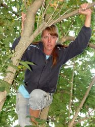 Danielle Up in the Trees 3 by FantasyStock