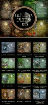 CELTIC LUNA CALENDAR for 2010 by ArwensGrace