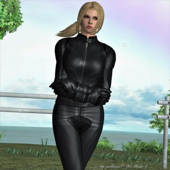 Lost-Windy In Thought...   Nina Williams by zoellisrus
