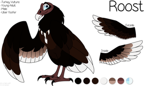 Roost-Tarb's Fursona 2017 by Faith-Wolff