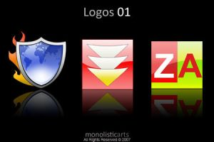 Logos 01 icons and png by monolistic