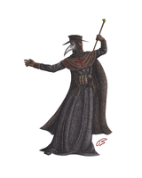 Plague Doctor - Print 2 by LieutenantHawk