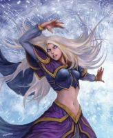 wrath of Jaina Proudmoore by houdao920