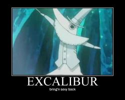 excalibur by lunatheloon