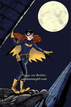 Batgirl-1-colored-for-web by SamhainNightManga