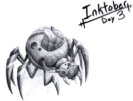 Inktober day 3 by Chelseapup