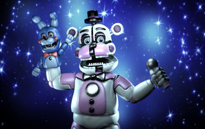 (C4D)Super Bear Star by SpringBonnieNotTrap