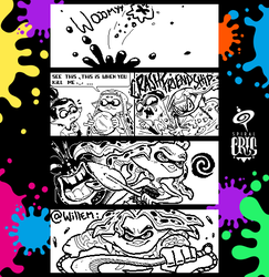 Splatoon Miiverse Art 48 by SPIRALCRIS