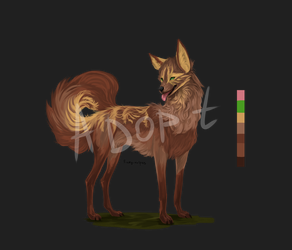 Adoptable (Open)-Dog by Fiery-vulpes