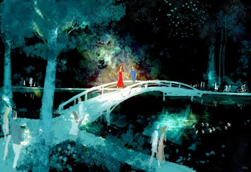 From then on, it was OUR bridge, OUR park... by PascalCampion