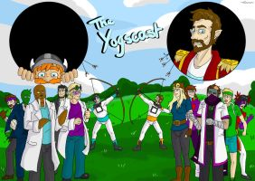 The Yogscast by Sephy-Noir