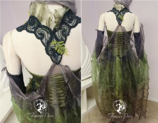 Forest Serpent Back View by Firefly-Path