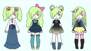 [outfit set] - Rynnu by hello-planet-chan