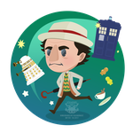 Day 233 - the seventh doctor by salvadorkatz