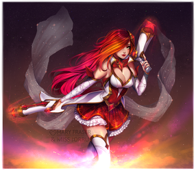 Collab: Star Guardian Miss Fortune by maryfraser