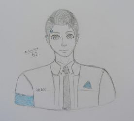 Connor - Detroit: Become Human by FeriFairy