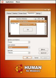 Human for Windows by MarcoFiorilli