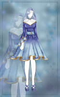 'Winter Wonderland' - Outfit Adoptable #1 CLOSED by Sierrali