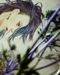 Yuhi - watercolor / details by khaoskai
