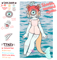 June Adopt - Starfish Mermaid [CLOSED] by hello-planet-chan