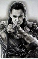 Loki - God of Mischief by Schoerie
