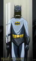 Good bye Adam West by mastaczajnik