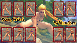 Cammy Bikini 10 Colors Pack by BrutalAce