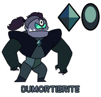Dumortierite by Myhuuse123