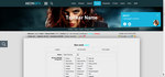 Tracker Themes in HTML and CSS by GFX-AEON
