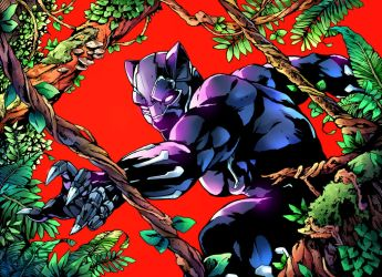 Black Panther by CPuglise9