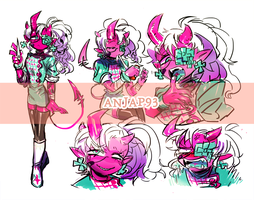 [CLOSED] Adopts - A mad nurse ( Devil #5 ) by Titi-S2