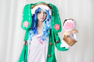 Date a Live - Yoshino cosplay by Disharmonica