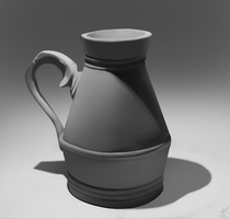 vase preppedCanvas JB by JamBarclay