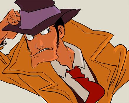 I choose you,Zenigata by spacedrunk