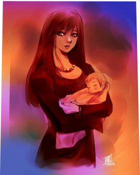 mother by Teruchan