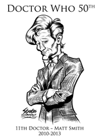 Doctor Who 11th Doctor Matt Smith by SouthParkTaoist