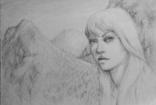 Mountain Girl by Ciuva