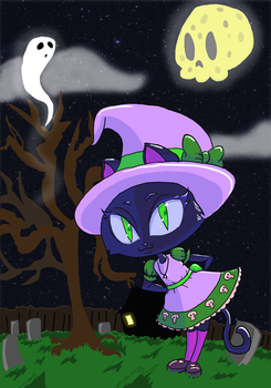 Witch by VampyreNinjaKen