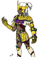 Runescape - Mage armour design by Tiberious125