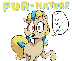 Fur Neigh Chair by DocWario
