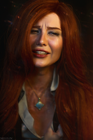 The Witcher Saga - Triss by MilliganVick