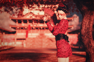 [DAZ3D] - Geisha by PSK-Photo
