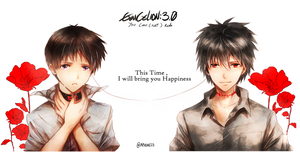 Evangelion 3.0 -- Wish by aphin123