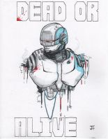 Dead or Alive: Robocop art by IronWarrior777
